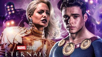 Photo of New Eternals Footage Revealed at CCXP