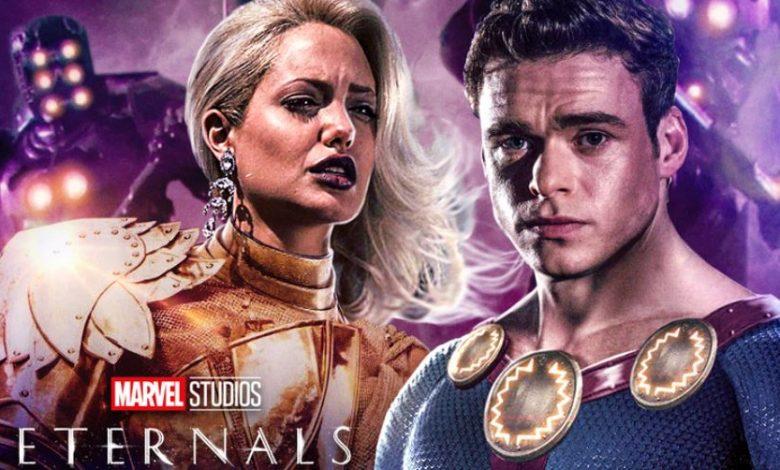 New Eternals Footageat CCXP