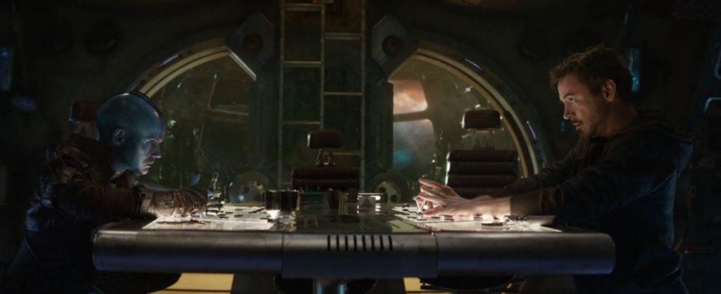 Funny Nebula & Iron Man Scene