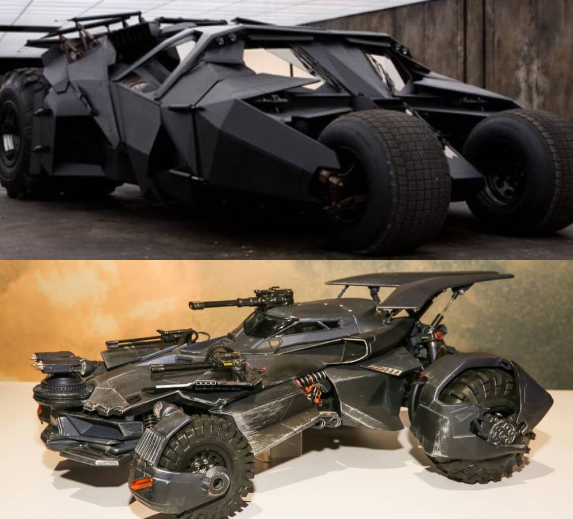 Batman Batsuit & Batmobile