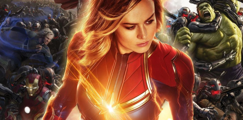 Captain Marvel Deleted Cameo in Age of Ultron