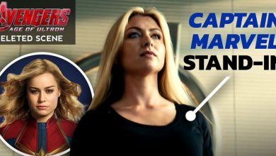 Photo of The Deleted Cameo of Captain Marvel from Age of Ultron Fully Revealed