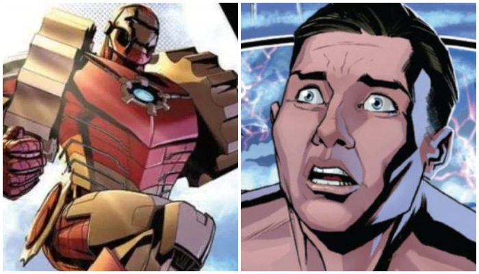 Another Superhero Replaces Iron Man