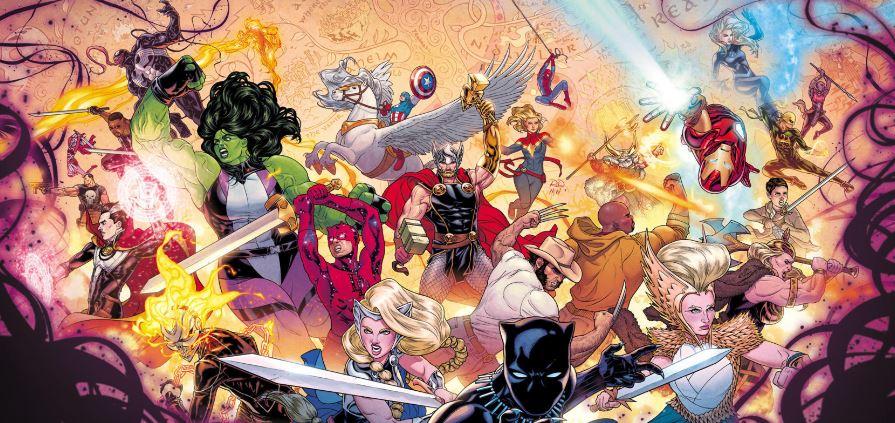 Marvel Creates Team of Mightiest