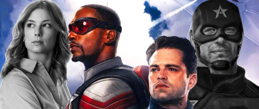 Falcon & Winter Soldier Set Video Shows Fight With Evil Captain America