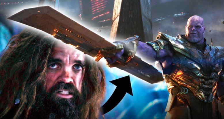 Axe Instead of His Sword
