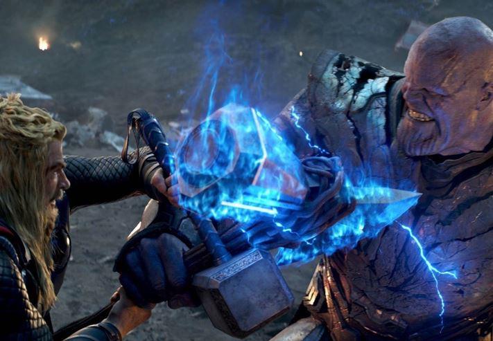 Thanos Got an Axe Instead of His Sword