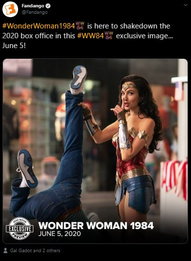 Wonder Woman 1984 Released