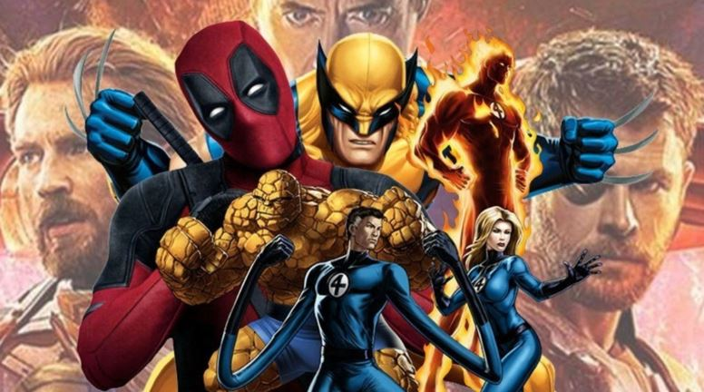 X-Men Fantastic Four Characters in Phase 5