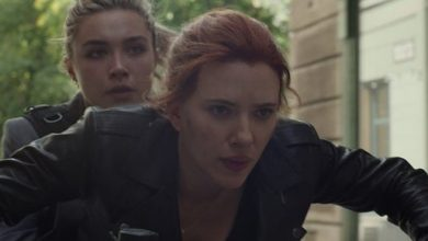 Photo of New Black Widow Look Teases Thrilling Motorcycle Action in the Film