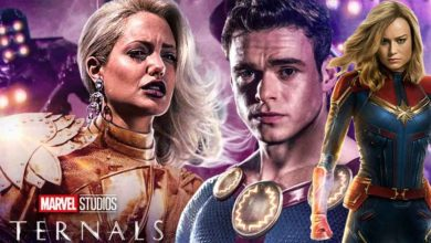 Photo of New Eternals Promo Shows a Possible Connection to Captain Marvel