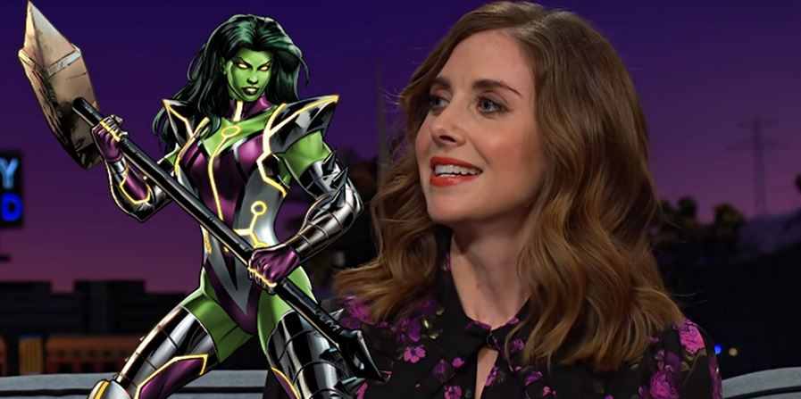 Alison Brie's Comments on She-Hulk