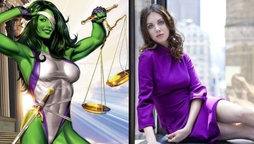 She-Hulk Appear in Spider-Man 3
