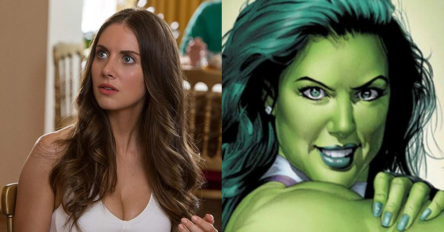Alison Brie she playing the role of She-Hulk