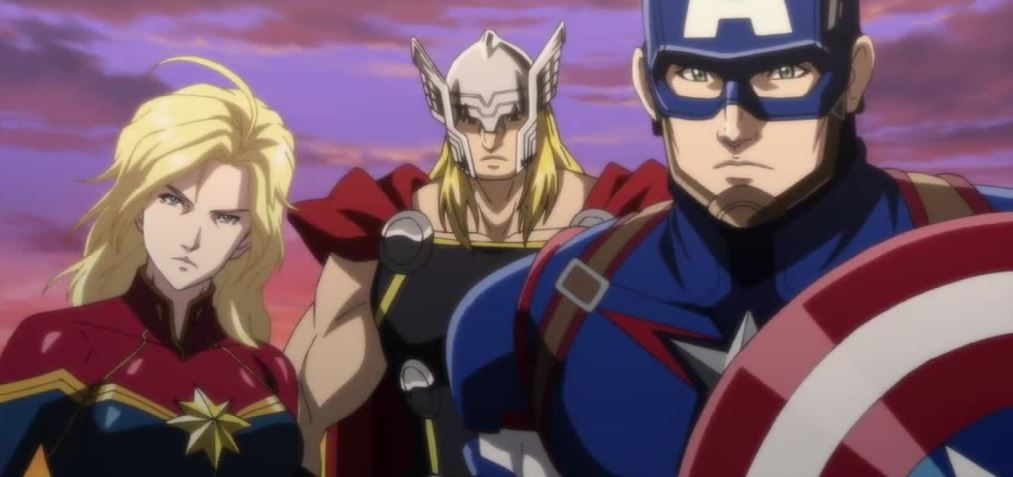 Marvel Future Avengers Anime