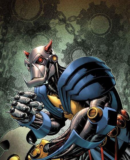 Comic Book Machine Warriors