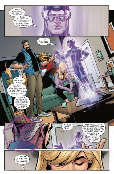 Doctor Doom Reveals Weapon to Kill Mutants