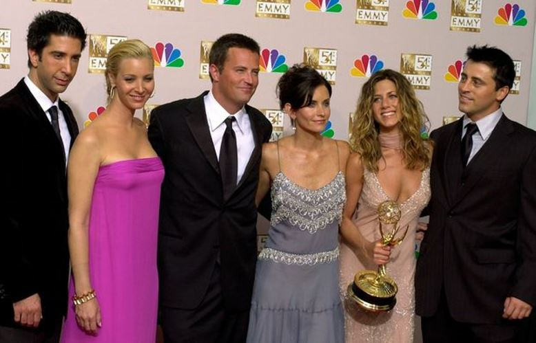 Friends Cast Members Reunion Project on HBO Max