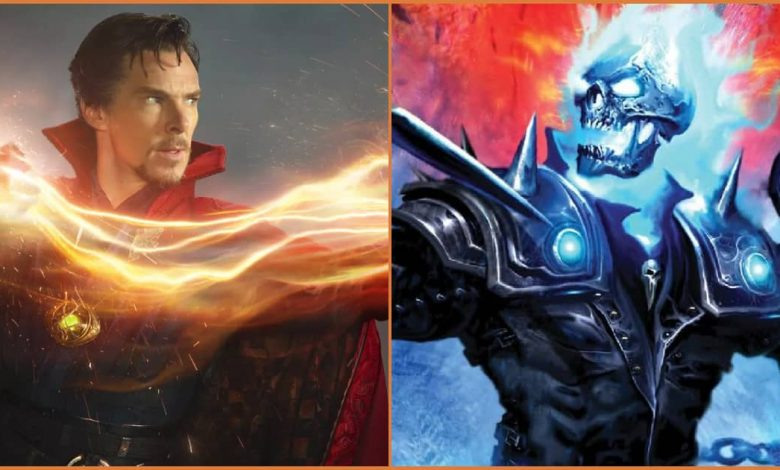 Doctor Strange And Ghost Rider Declared War