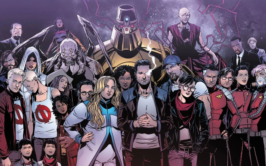 Strongest Superhero Communities