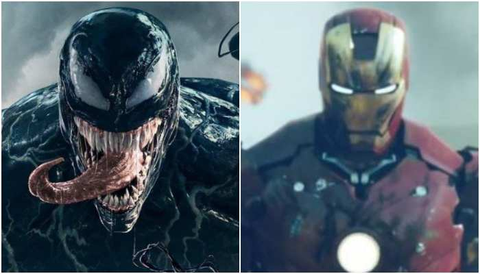 Venom Gives Eddie Brock Iron Man Armour