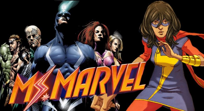 Ms. Marvel Introduce Inhuman Characters