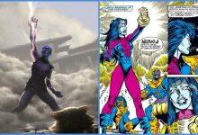 Photo of New Avengers: Endgame Concept Art Shows Nebula Wearing Infinity Gauntlet