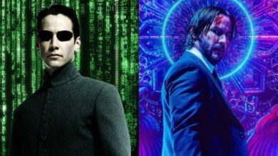 Photo of First Look at Keanu Reeves as Neo on the Set of 'The Matrix 4' Revealed