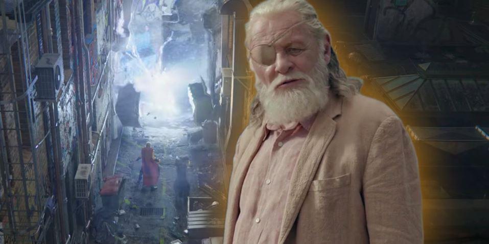 Hela's Entrance in Thor Ragnarok