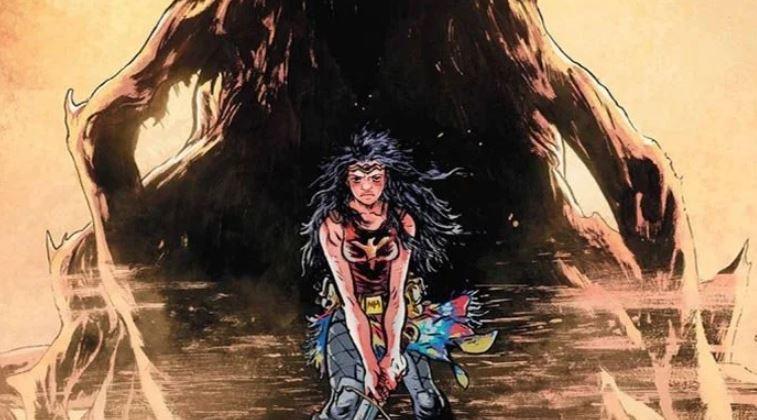 Wonder Woman Turned Ultimate Goddess