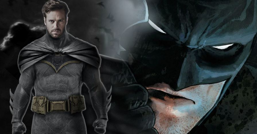 Justice League Mortal Cowl for Armie Hammer's Batman