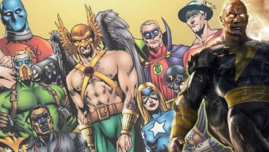 Photo of Black Adam Leaked Script Reveals Members of the Justice Society of America