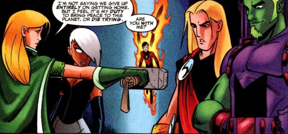 Children of Marvel Superheroes