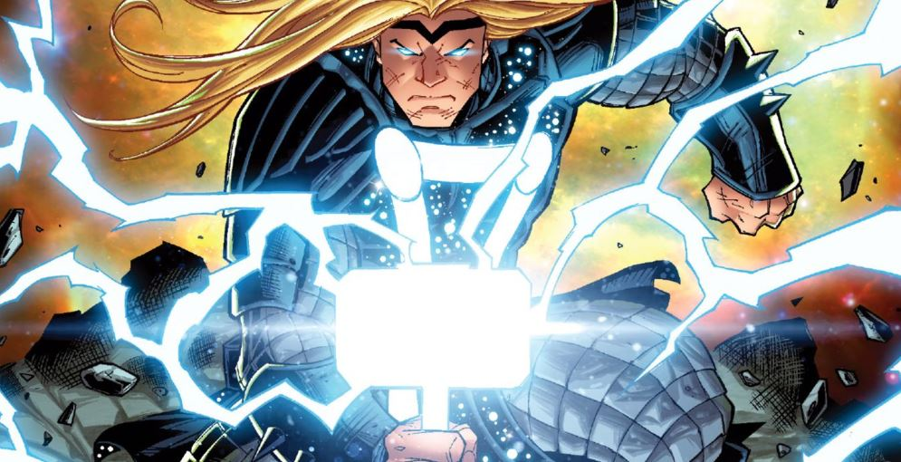 Marvel's Empyre Event Thor Fight Lord Shiva