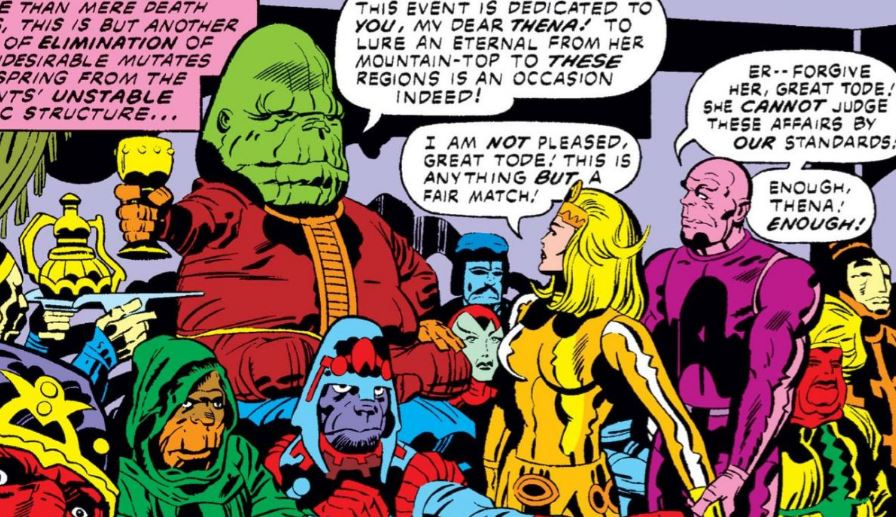 How Marvel's Eternals Skrulls & Mutants Connected?
