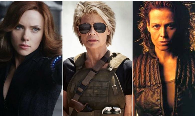 Female Action Stars in Movies