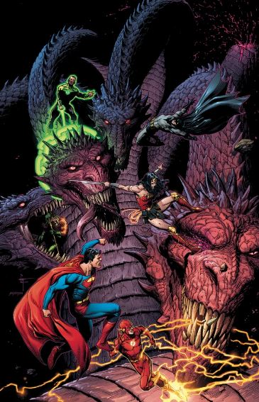 Justice League to Fight Five Headed Dragon