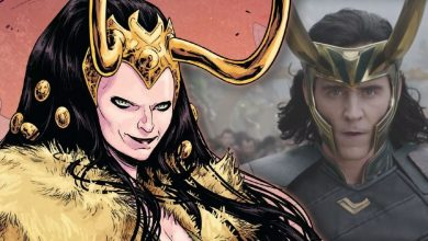Photo of Loki Set Photos Reveal Loki in Suit & Lady Loki