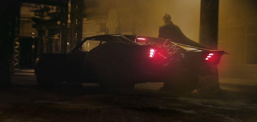 The Batman First Photos of New Batmobile Enhanced Mustang