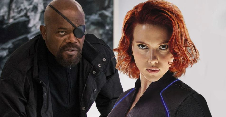 Nick Fury Lose His Eye in Black Widow