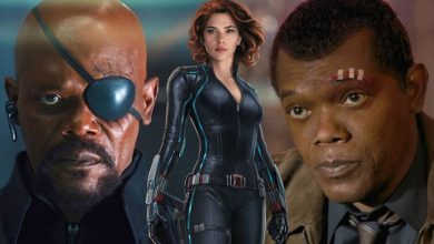 Photo of Nick Fury Might Actually Lose His Eye in Black Widow