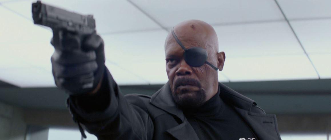 Nick Fury Didn't Lose His Eye in Captain Marvel