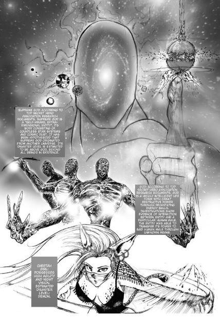 One Punch Man vs God