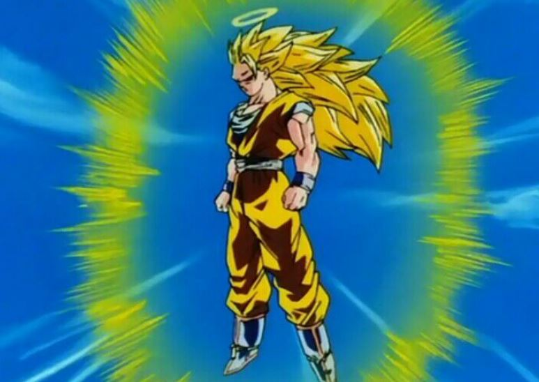 Super Saiyan in Dragon Ball