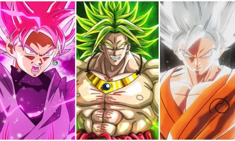 Super Saiyan Transformations in Dragon Ball