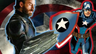 Photo of Unused Shield of Captain America from Avengers: Infinity War Revealed