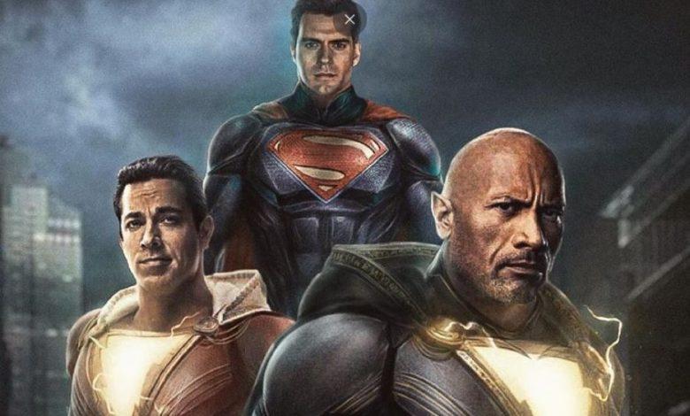 Black Adam Rumor Post Credits Scene Feature Superman & Shazam!
