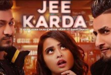 Photo of  Jee Karda Mp3 Song Download in High  Audio For Free