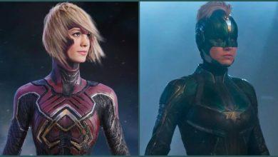 Photo of Captain Marvel – Alternate Starforce Suit Design for Carol Revealed