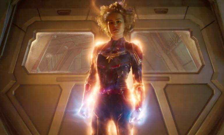 Thanos' Headbutt No Effect on Captain Marvel